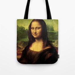 Mona Lisa Painting Tote Bag