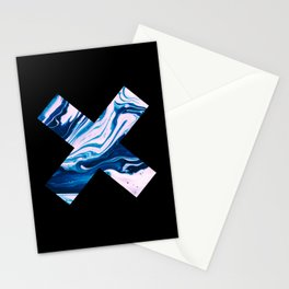 Marble Cross Stationery Cards
