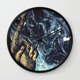 Pointer Finger Up Wall Clock