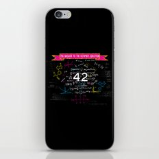 The answer to the ultimate question 42 iPhone & iPod Skin