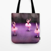 ballet Tote Bags featuring Ballet by Tiffany Dawn Smith