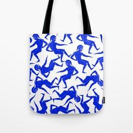 HOPLITES in Blue Tote Bag