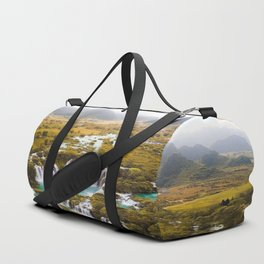 China's Waterfalls Duffle Bag