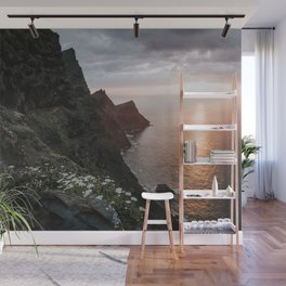 Ocean Sunset - Landscape and Nature Photography Wall Mural