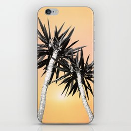 Cali Summer Vibes Palm Trees #2 #tropical #decor #art #society6 iPhone Skin