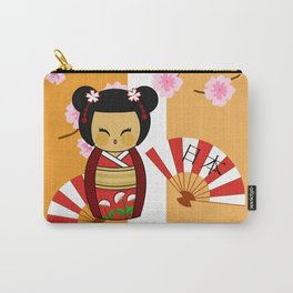 Kokeshi Ai  Carry-All Pouch