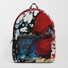 Abstract Field of Flowers - Vulpecula Backpack