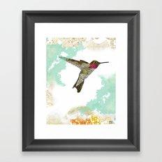 Hummingbird Ayre Serene Dream Framed Art Print