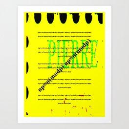 Fermat's Little Theorem Art Print