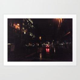 Glasgow Art Print