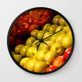 Apples to Apples Wall Clock