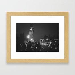 London Tourist Framed Art Print