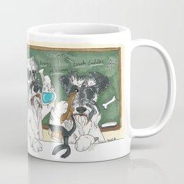 Schnauzer Scientists Coffee Mug