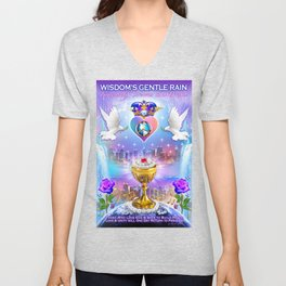 The Kingdom of Heaven is Within Unisex V-Neck
