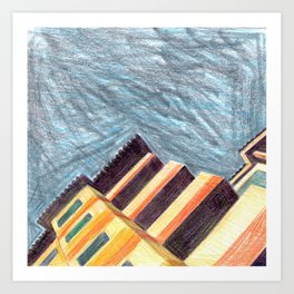 Urban Landscape 1 Art Print