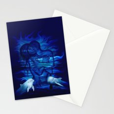 Passion act - pair with Dolphin pair Stationery Cards