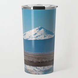 Mt Shasta Reflection Travel Mug