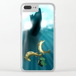 Mischievous Pikes Clear iPhone Case