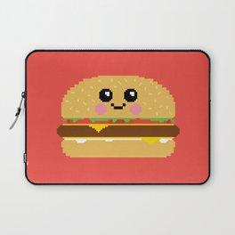 Happy Pixel Hamburger Laptop Sleeve