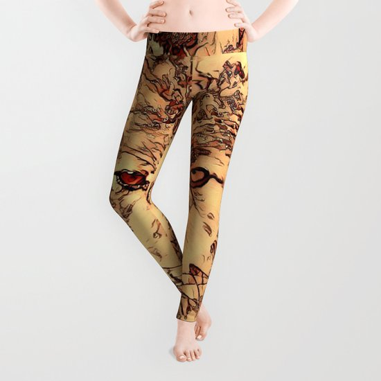 Animal ArtStudio - amazing Wolf Leggings