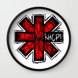 Red Hot Chilli Peppers Wall Clock