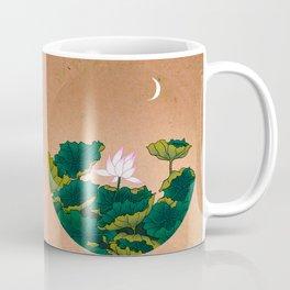 Minhwa: Lotus Pond at Night A Type Coffee Mug