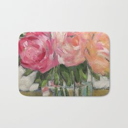 Pink as Pink Can Be Bath Mat