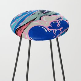 Cake Clouds Counter Stool