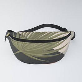 Tropical Leaf- Abstract Art 5 Fanny Pack
