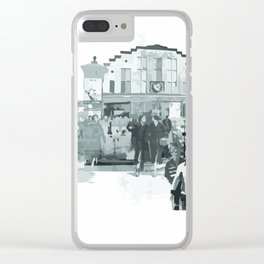 Old Dundee Concept Clear iPhone Case