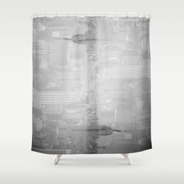 Empire State Double Take Shower Curtain