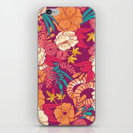 Jungle Pattern 002 iPhone Skin