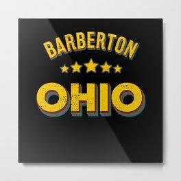 Barberton Ohio Metal Print