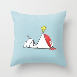 sno-cone of shame Throw Pillow