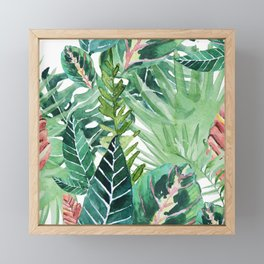 Havana jungle Framed Mini Art Print