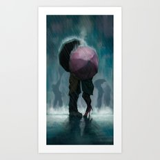 April Showers Art Print