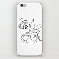 snail iPhone & iPod Skins featuring Snail. by sonigque