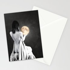 Moon Contemplation Stationery Cards