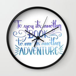 Another Adventure Wall Clock