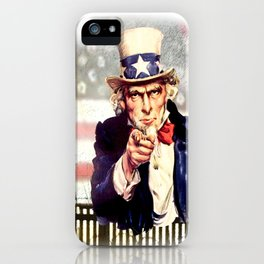 I WANT YOU  iPhone Case