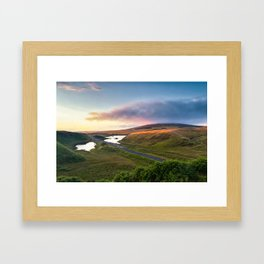 Vanishing Lakes,Ireland,Northern Ireland,Ballycastle Framed Art Print