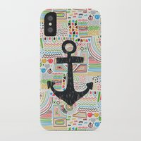 anchor iPhone & iPod Cases featuring Anchor by Berreca