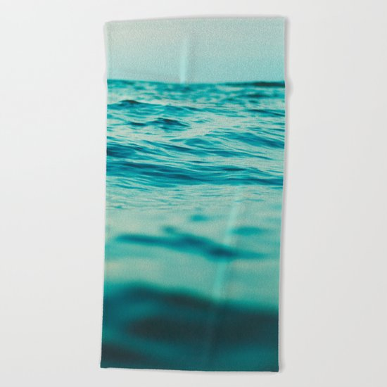 Aqua Sea Beach Towel