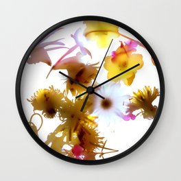 Falling Joy II Wall Clock