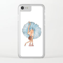 Bailarina Clear iPhone Case