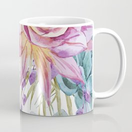 FLOWERS WATERCOLOR 19 Coffee Mug
