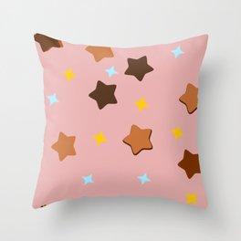 Starland Throw Pillow