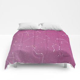 Stars on the sky constellations Comforters