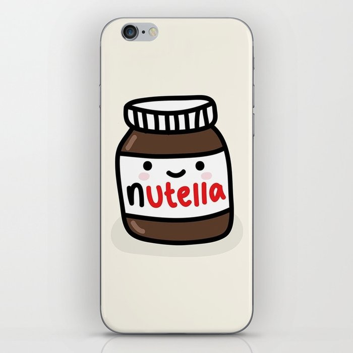 Nutella iPhone Skin