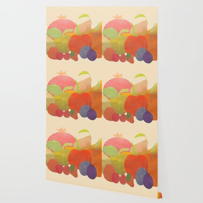 A Bundle of Fruit Wallpaper